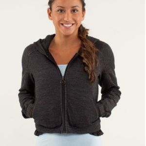 Lululemon Sattva Jacket Merino Wool Black 4